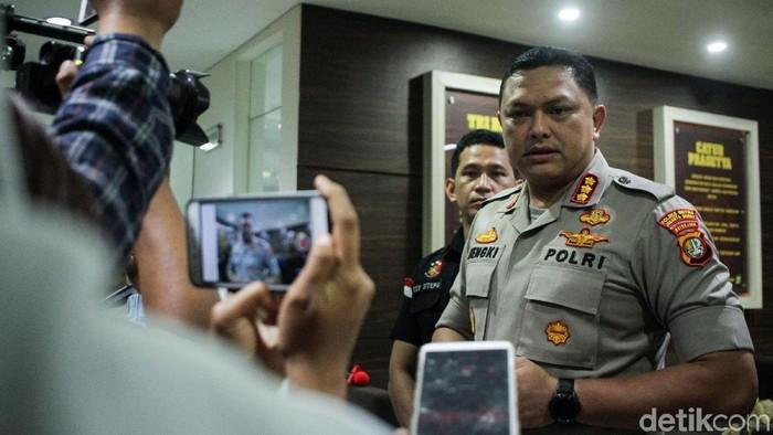 Foto: Kapolres Jakarta Barat Kombes Hengi Haryadi (Rifkianto Nugroho/detikcom)
