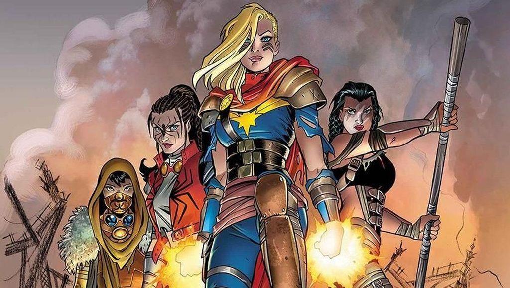 Captain Marvel Dapatkan Kostum Baru