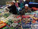 Pasar Batu Akik Rawa Bening Masih Eksis