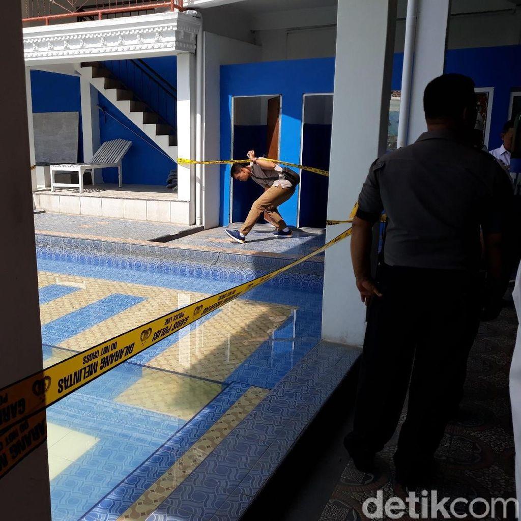 Polisi Olah TKP 2 Bocah Tewas Tenggelam di Kolam Renang Yogya