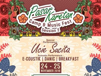 Ada Hadiah Jutaan Rupiah di Pasar Karetan Camp & Music Fest