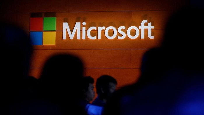 Ilustrasi Microsoft. Foto: Drew Angerer/Getty Images