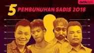 Dendam dan Perampokan, Jadi Motif Pembunuhan Sadis 2018