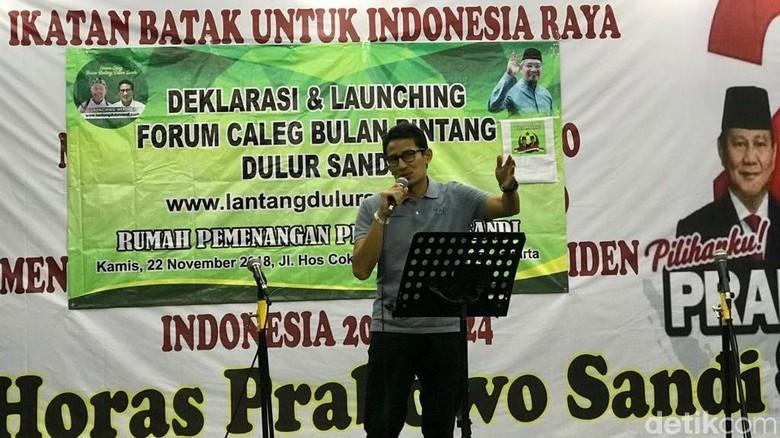 Sandiaga Klaim Dapat Dukungan dari Ulama dan Jawara Banten