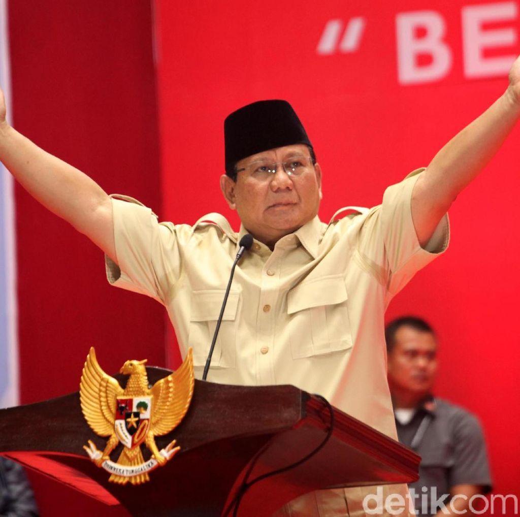 Garis Keturunan Prabowo di Retorika Negara Punah