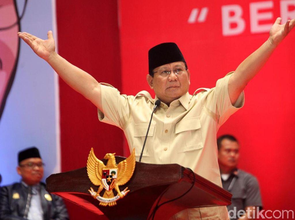 Prabowo Bakal Terima Tamu dan Diskusi Jelang Debat Perdana