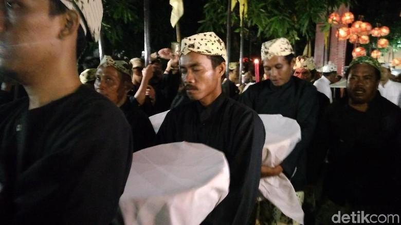 Tradisi Panjang Jimat di Cirebon (Sudirman Wamad/detikTravel)