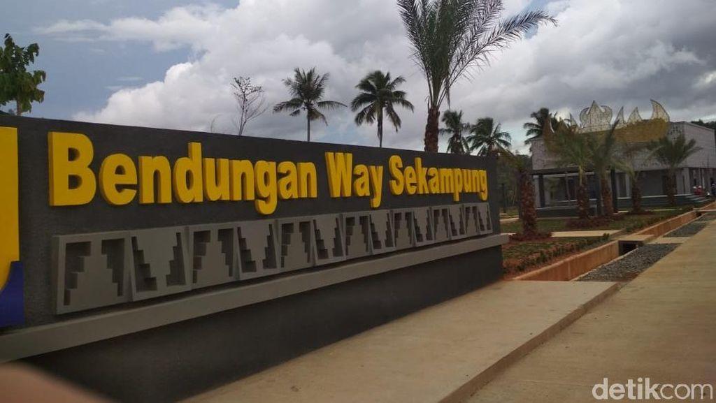 Konstruksi Bendungan Way Sekampung Selesai Desember 2019