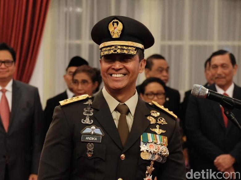 PPP: Jenderal Andika Pilihan Tepat untuk Jabatan KSAD
