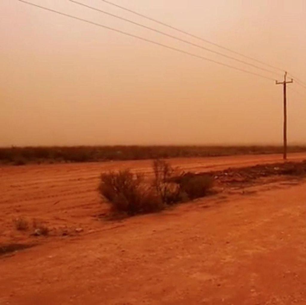 Dahsyatnya Badai Pasir Menyelimuti Australia