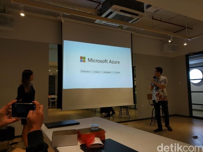 Yuk kenali lebih dekat Azure Stack, teknologi hybrid cloud Microsoft (Foto: Muhamad Imron Rosyadi/detikINET)