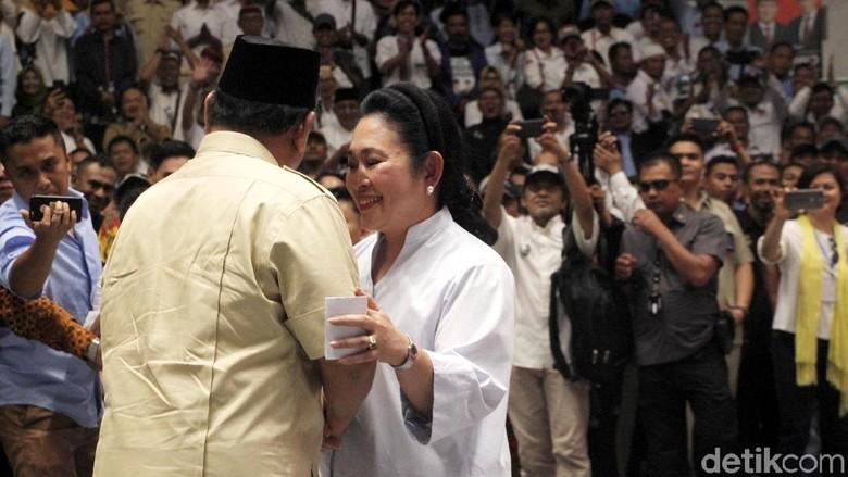 Titiek Bicara soal Ibu Negara, TKN: First Lady Terikat Perkawinan Sah