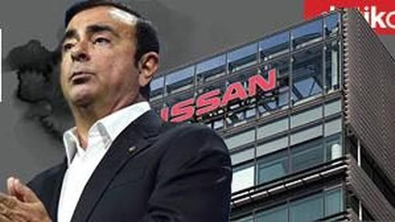 Bos Nissan ditangkap karena berbagai penyalahgunaan jabatan