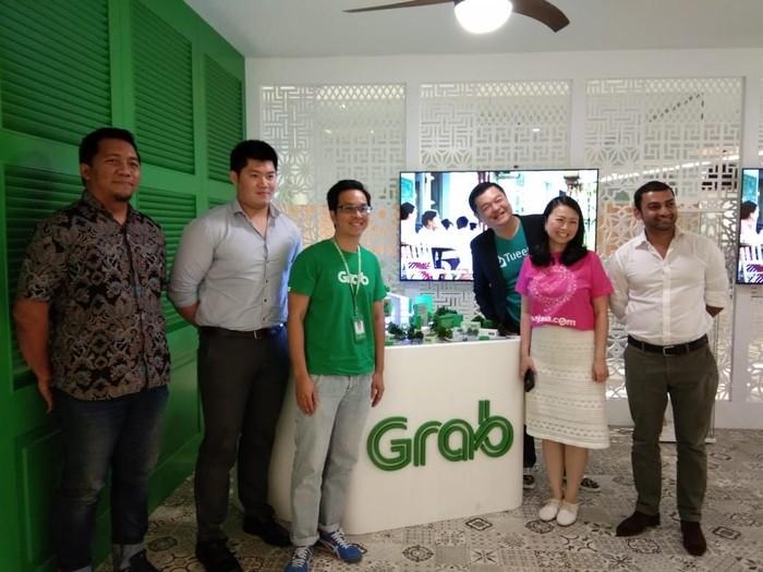 Grab bina 3 startup Indonesia untuk Go Internasional (Foto: Muhammad Idris/Detikcom)