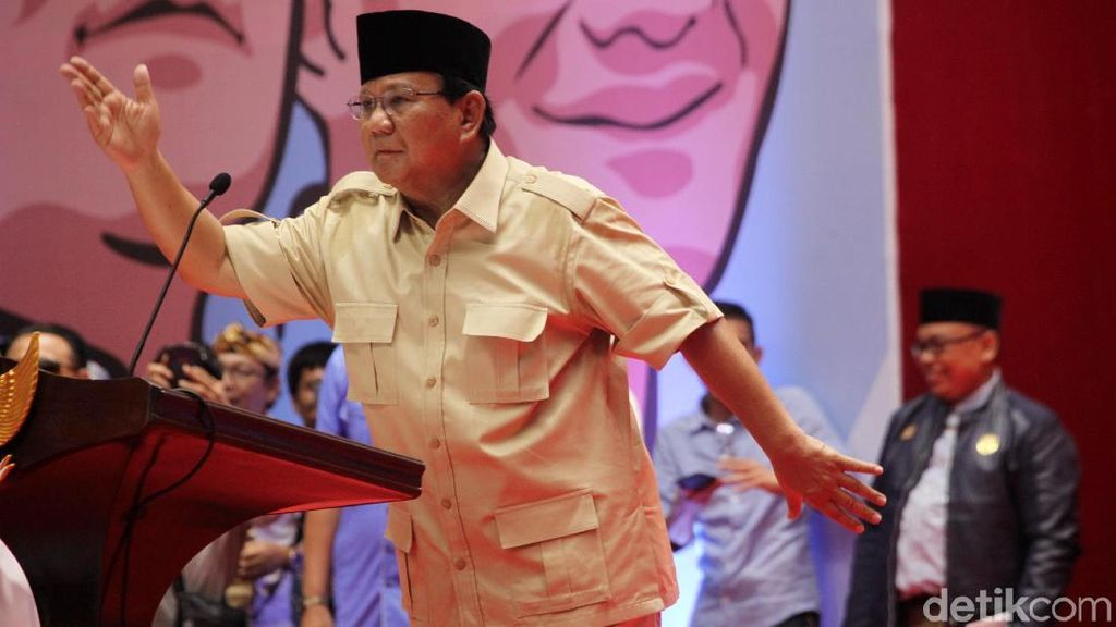 Deretan Tudingan Prabowo soal Uang Negara Bocor