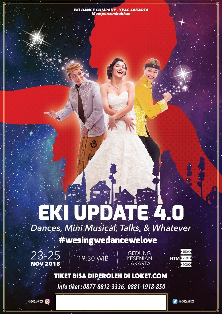EKI Update 4.0 Hadirkan Kolaborasi Tari dan Mini Musikal Foto: istimewa/ eki dance company