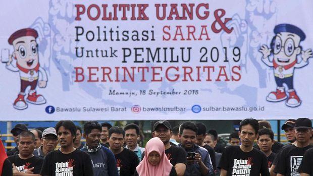 Deklarasi tolak politik uang dan SARA di Pemilu 2019.