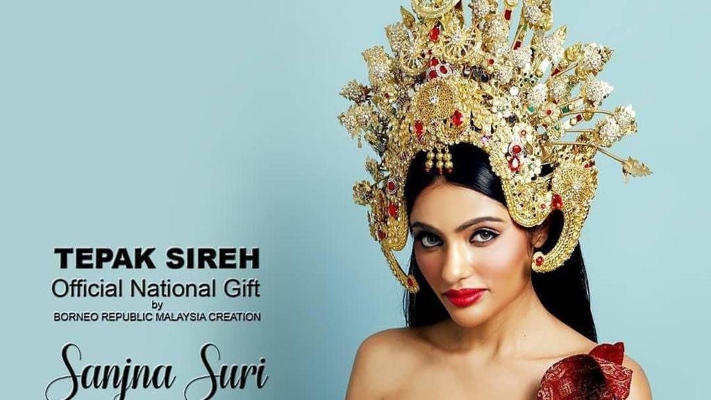 Ini Kostum Nasional Srikandi Malaysia yang Dianggap Contek Budaya Indonesia