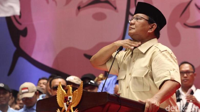 Prabowo Prihatin Banyak Orang Frustrasi karena Kemiskinan