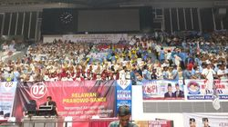 Guyon Prabowo di Depan Relawan: Gue Kalau Iklan Kopi Laku Kali Ya