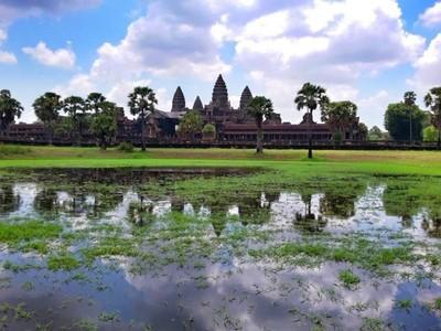 Berpetualang ala Tomb Raider di Kamboja