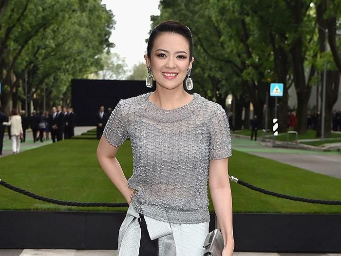 MILAN, ITALY - APRIL 30:  Zhang Ziyi attends the Giorgio Armani 40th Anniversary  Silos Opening And Cocktail Reception on April 30, 2015 in Milan, Italy.  (Photo by Jacopo Raule/Getty Images  for Giorgio Armani)