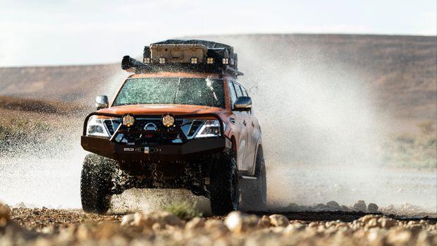 Uji ketangguhan Nissan Terra di Gurun Sahara