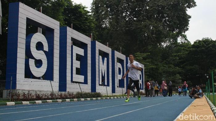 Salah satu spot olahraga di Kota Bogor (Foto: Kirei/detikHealth)
