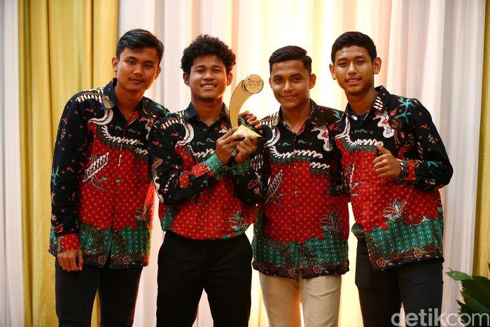 Beregu Putra Terfavorit: Tim Sepakbola Putra U-16 di Piala AFF 2016.