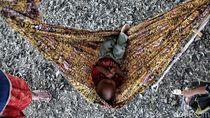 Potret Anak-anak di Permukiman Kumuh Muara Angke