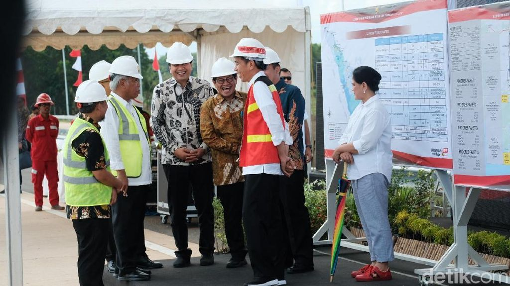 Jokowi Beberkan Target Tol Trans Sumatera, Lampung sampai Aceh