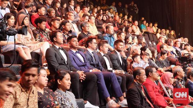 Kevin/Marcus saat hadir di Indonesian Sport Awards.