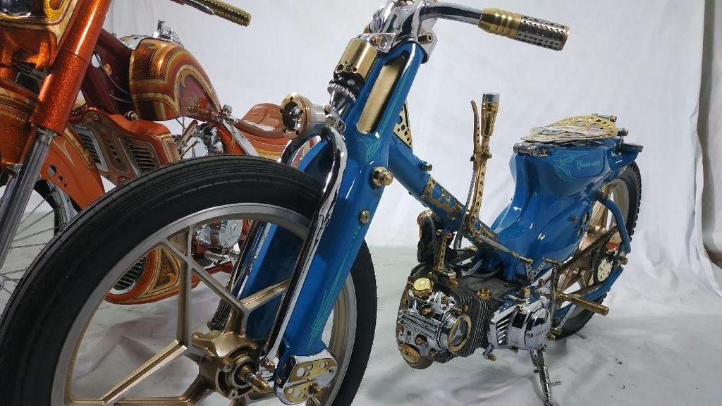 Motor Jadul Tunggangan Raja Salman