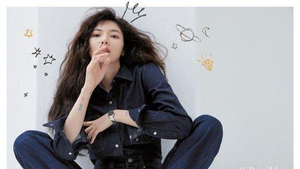 Jadi Model Sampul Majalah Tanpa Makeup, Idol K-Pop Ini Banjir Pujian