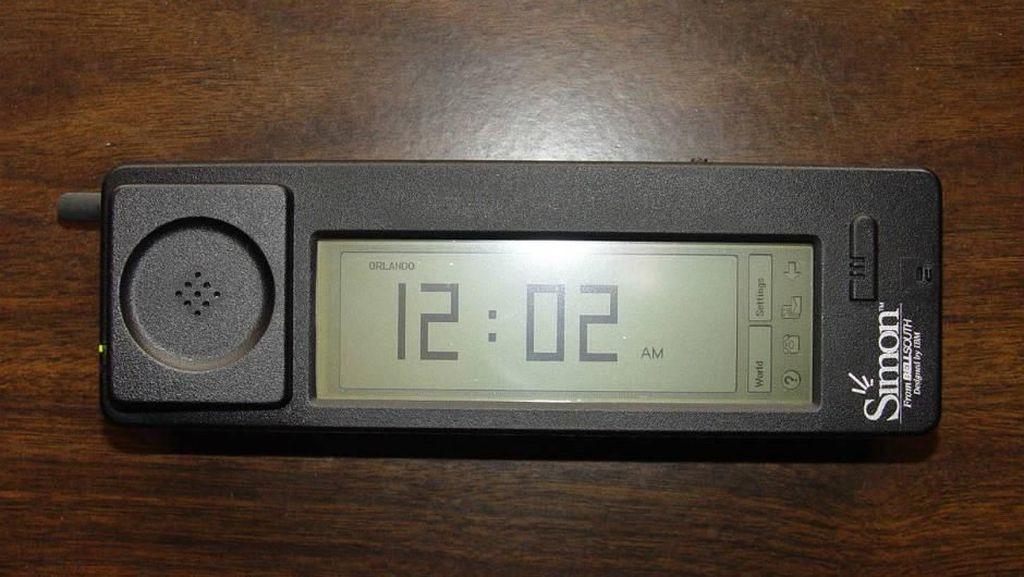 Cikal bakal Simon sebagai nenek moyangnya smartphone berawal dari prototype Angler pada 23 November 1992.(Foto: Istimewa)