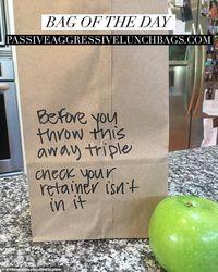 Kreatif! Ibu Ini Tulis Pesan-pesan Kocak di Kantung Kertas Makanan Anaknya