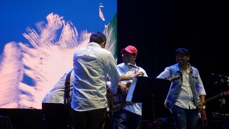 Bareng Abdee dan Sammy, Menhub Hibur Milenial di Musikologi 2018