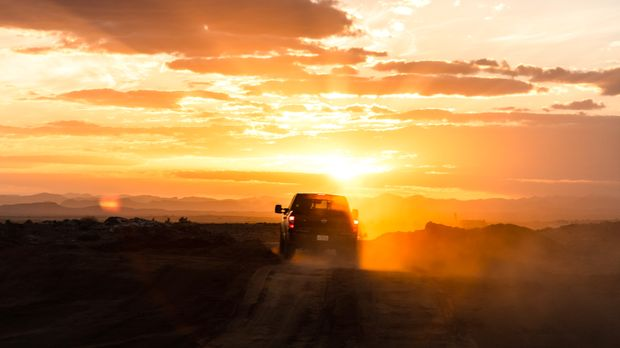 Uji Nissan Terra di Gurun Sahara
