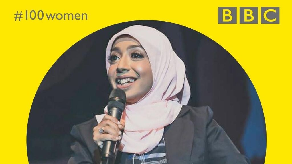 Komika Berhijab Ini Jadi Satu-Satunya Wanita Indonesia di BBC 100 Woman