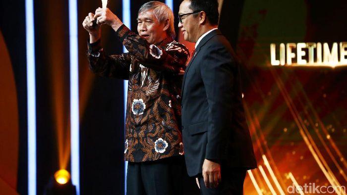 Christian Hadinata jadi salah satu peraih Indonesian Sport Awards 2018 (Muhammad Ridho/detikSport)