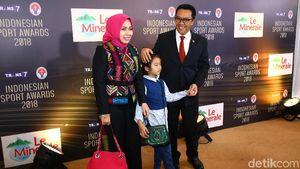 Menpora Ajak Keluarga Hadiri Indonesian Sport Awards 2018