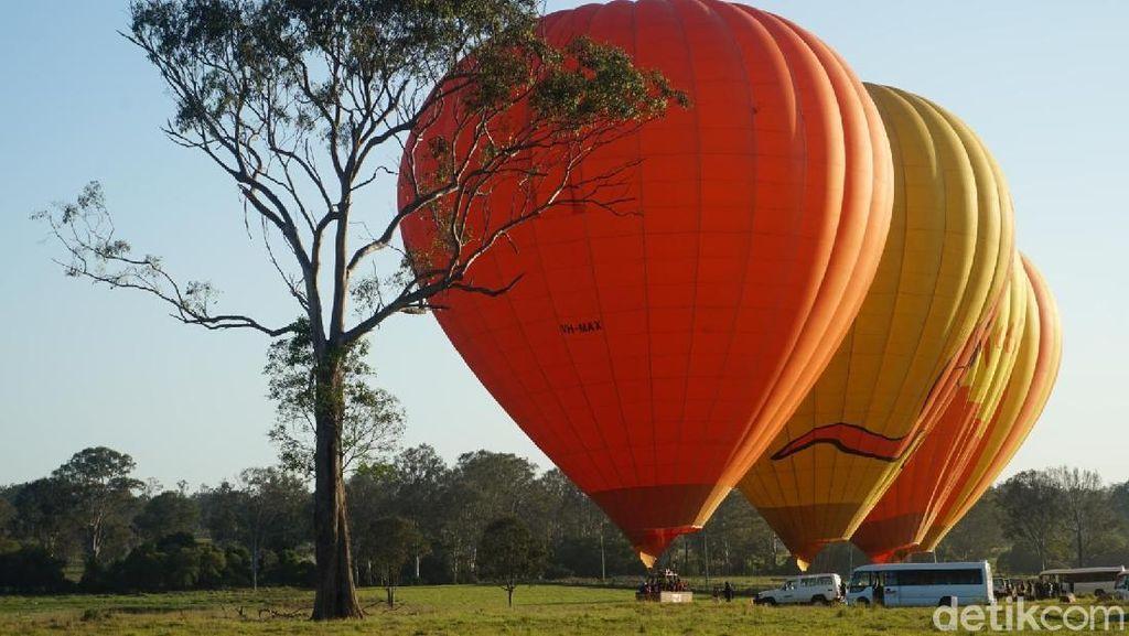 Kisah Drama Turis India Saat Naik Balon Udara di Australia
