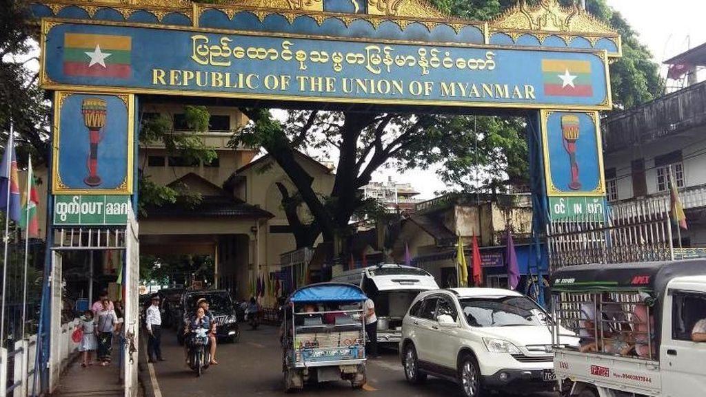 Indahnya Keberagaman di Tachileik, Perbatasan Thailand & Myanmar