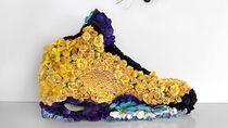 Keren! Deretan Sepatu Ini Terbuat Dari Bunga