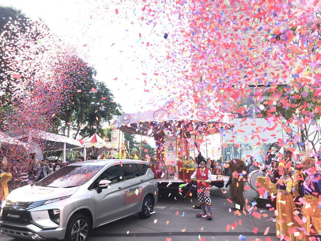 Xpander Tons of Real Happiness digelar di Palembang Icon Mall mulai 23-25 November 2018.