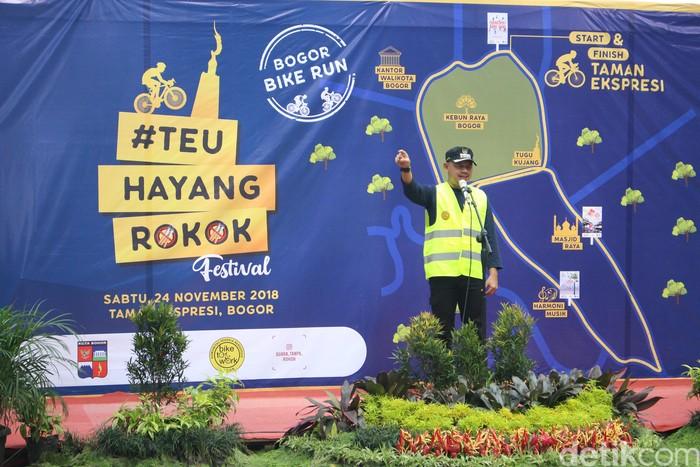 Walikota Bogor menegaskan akan menolak industri rokok yang ingin masuk ke kota ini. (Foto:Kireina/detikHealth)