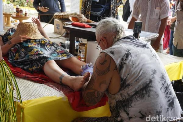 Karangasem World Cultural Festival diadakan di Desa Jungutan, Karangasem, Bali. Ini jadi ajang branding dan menggerakan perekonomian pasca erupsi Gunung Agung (Aditya/detikTravel)