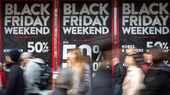 Ilustrasi Black Friday di AS. oto: BBC Magazine