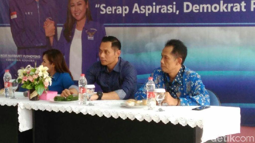 Guru Honorer Curhat ke AHY, Soal Gaji Minim dan Diangkat PNS