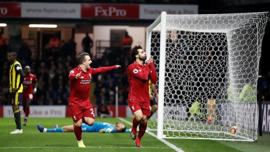 Hasil Watford Vs Liverpool: The Reds Menang Tiga Gol Tanpa Balas